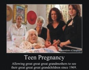 Teen Pregnancy Wonders Since 1969