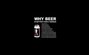 quotes humor funny beer dark black wallpaper background