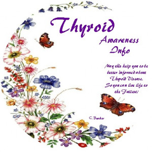 Please Help raise Awareness about Thyroid Disease by sharing this post ...