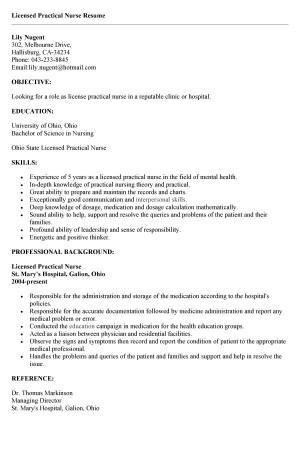 sample easy samples resume cover letter for licensed practical nurse - Sample Resume Licensed Practical Nurse