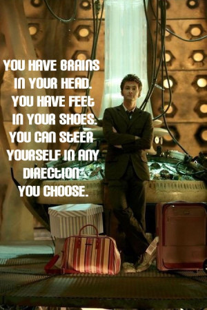 Doctor Who Lunch Note Quote Dr Seuss