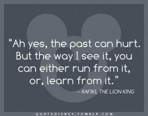 Your Ecards Quote Disney disney, quote, lion king, disney quot, rafiki ...