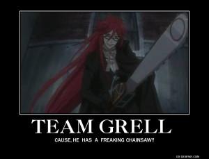 Team Grell. by ThisOneNarutoFreak