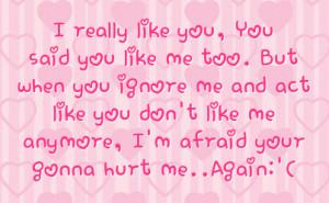 don t hurt me again please sad love picture quotes