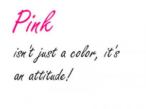 Pink Quotes Pink color quotes