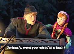 Disney Frozen Kristoff and Anna