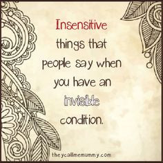 Quotes About Insensitive People
