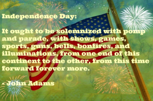 4th of July Saying and Quotes by Lincoln, Ronald , Adam