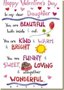 daughter quotes for valentines day quotesgram