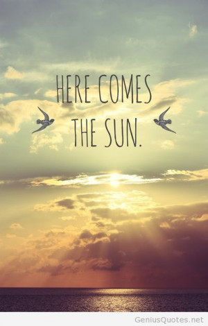 Summer sun quote pic