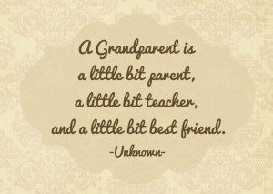 Grandparent quote