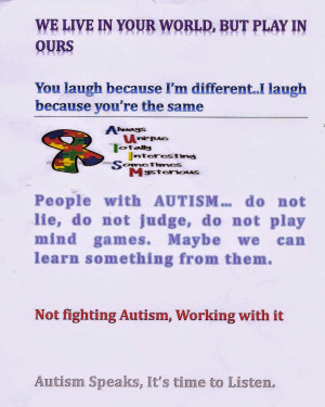 Aspergers Quotes Asperger's & autism: i used to
