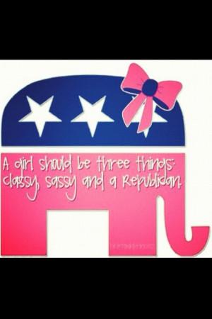 Republican conservative.