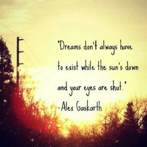 Alex gaskarth quotes are amazing