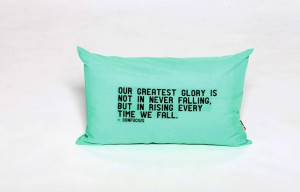 Cool As Mint Quotes Handmade Cushion
