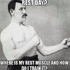 Rest day - motivation