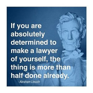 ... -Quote-law-office-motivational-14x14-poster-Abraham-Abe-law-school