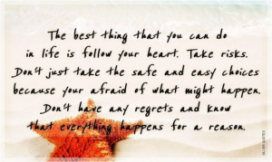 Sad quotes about life the best thing that you can do in life silver ...