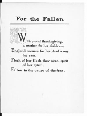 Reframing First World War poetry