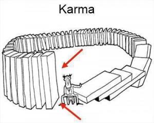 Butterfly Effect, Domino Effect dan Karma