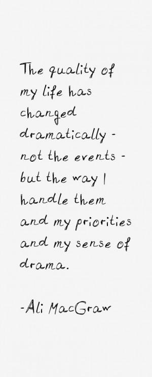 Ali Macgraw Quotes