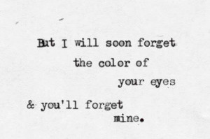 black and white, forget, me, pierce the veil, quote, text, you, color ...