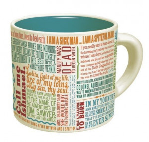 Famous Literary Quotes Mug
