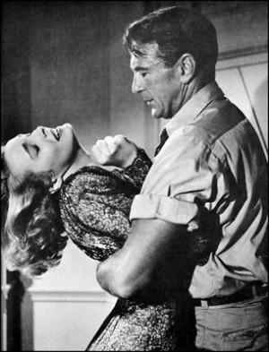 Dominique Francon (Patricia Neal) & Howard Roark ( Gary Cooper ) in ...