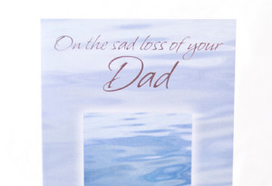 dad card on the sad loss of your dad dimensions 22 5cm x 13 50cm ...