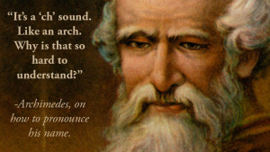 Five Incredible Archimedes Quotes