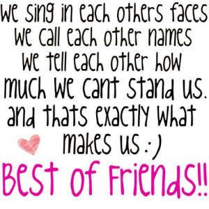 Friend Memories: best friend quotesand sayings just friends funny true ...