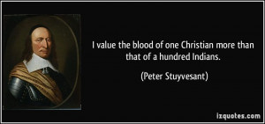 More Peter Stuyvesant Quotes