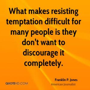 Quotes About Temptation
