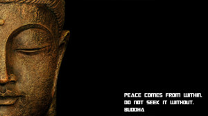 Peace [Buddha Quote] by N7-ZHH