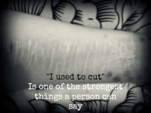 mine self harm cutting cuts hope strength scars recovery