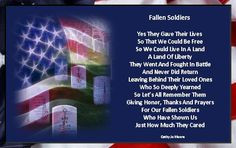 poem fallen soldiers more memories day poems heroes soldiers quotes ...