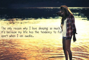 the reason i love sleep