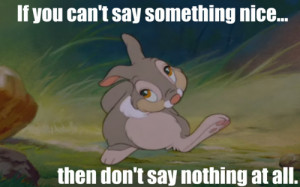 Bambi And Thumper Quotes Include: bambi, thumper,