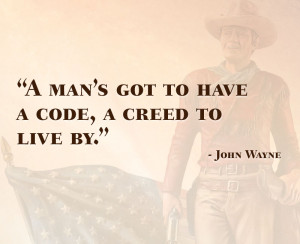 list of john wayne quotes to hang on your wall
