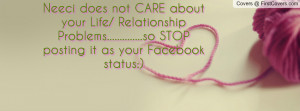... .....so stop posting it as your facebook status:) , Pictures