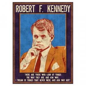 CafePress > Wall Art > Posters > Robert F. Kennedy Poster