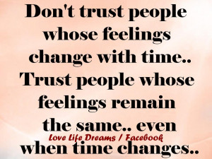 not trusting people quotes