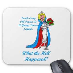 Funny Birthday Gifts for a Woman Mousepad