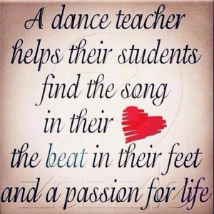 ... The Song In Their Heart The Beat In Their Feet And A Passion For Life
