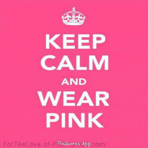 KEEP CALM PINK