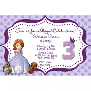 sofia the first birthday cake stand