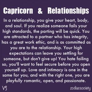 Dating divorced capricorn man