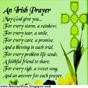 Irish Blessing Quotes Sayings