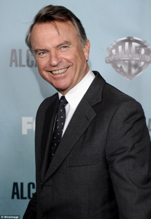 Good humoured: Sam Neill says he couldn't help but laugh when he heard ...