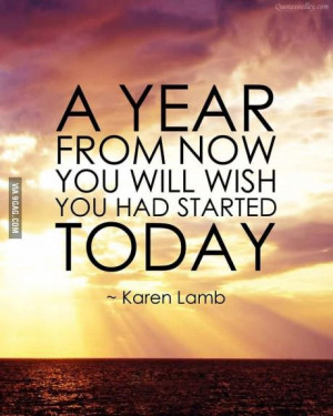 Best motivational quote ever! Think how far you could have come in a ...